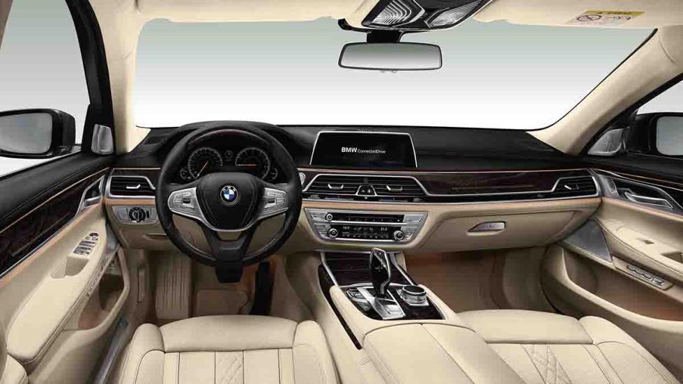 Nuevo BMW Serie 7 2015 interior lujo