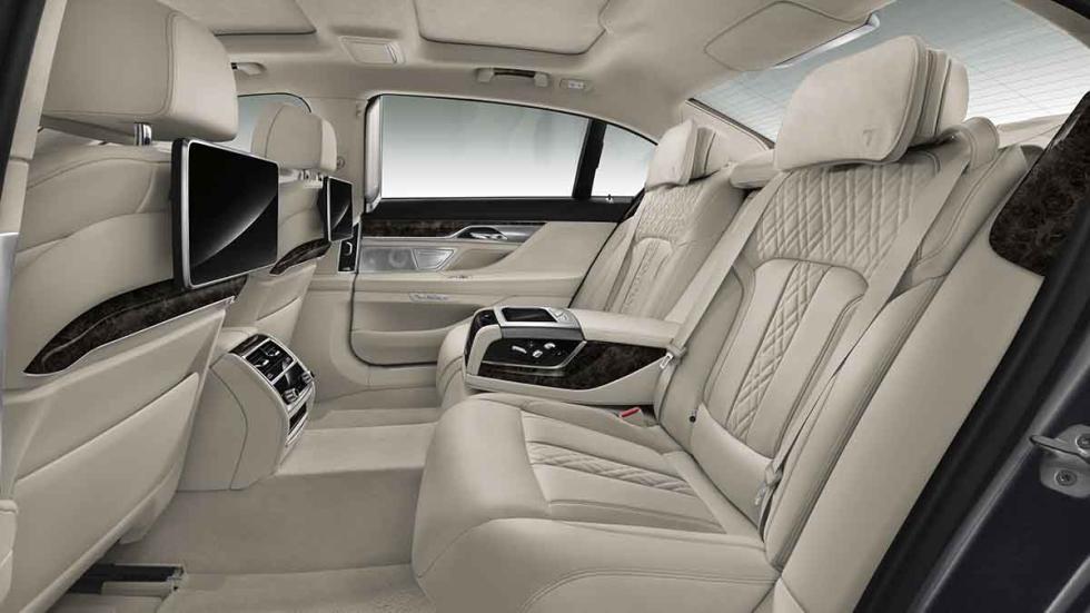 Nuevo BMW Serie 7 2015 plazas traseras