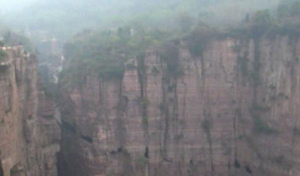 Túnel de Guoliang, en China