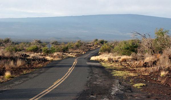 Sadle Road, en Hawai