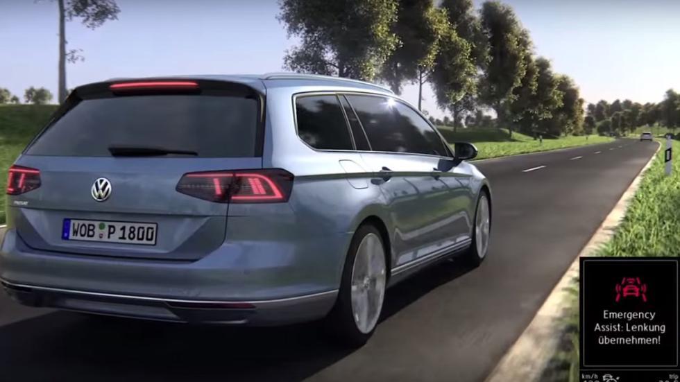 Volkswagen nuevo asistente de emergencia