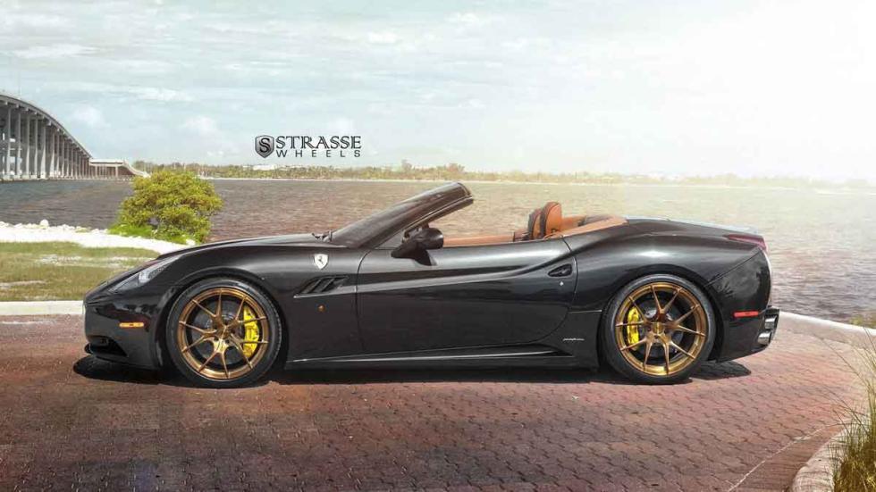 Ferrari California con llantas Strasse lateral