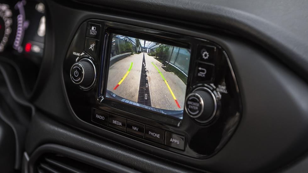 Nuevo Fiat Tipo camara vision trasera