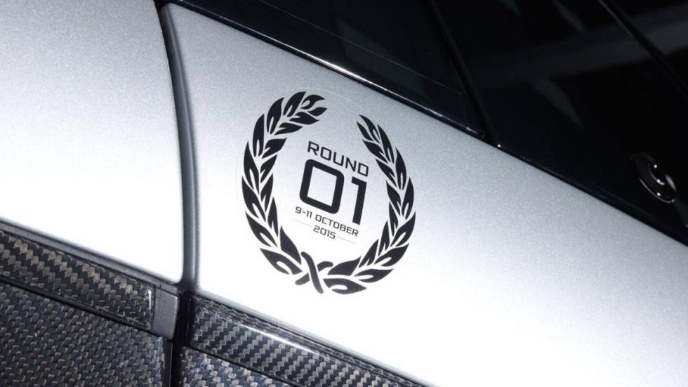 McLaren P1 GTR en Woking