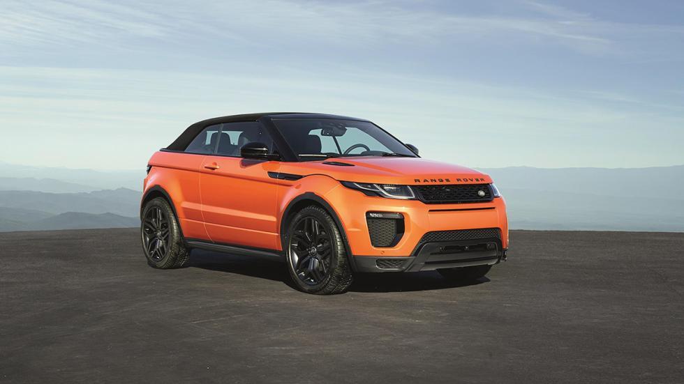 Range Rover Evoque Convertible frontal capota