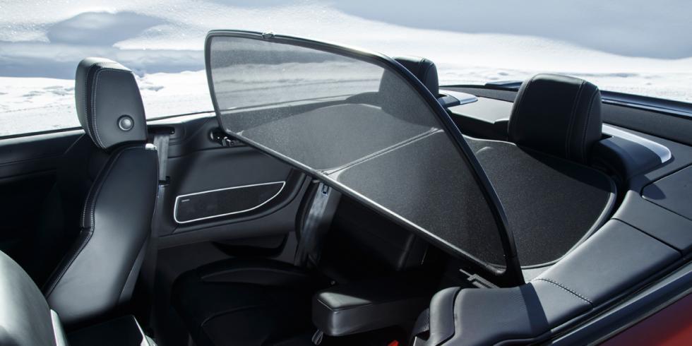 deflector viento range rover evoque convertible