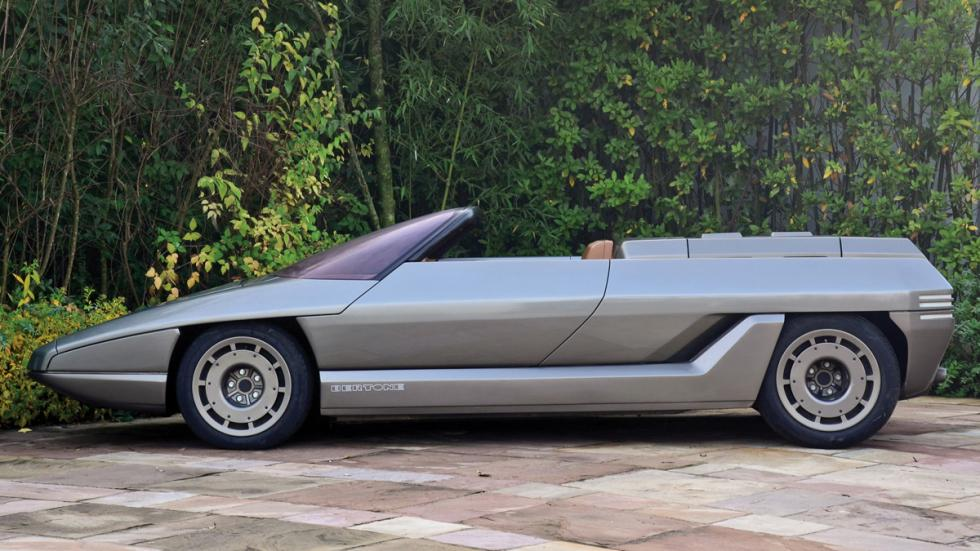 prototipos abandonados Lamborghini Athon perfil