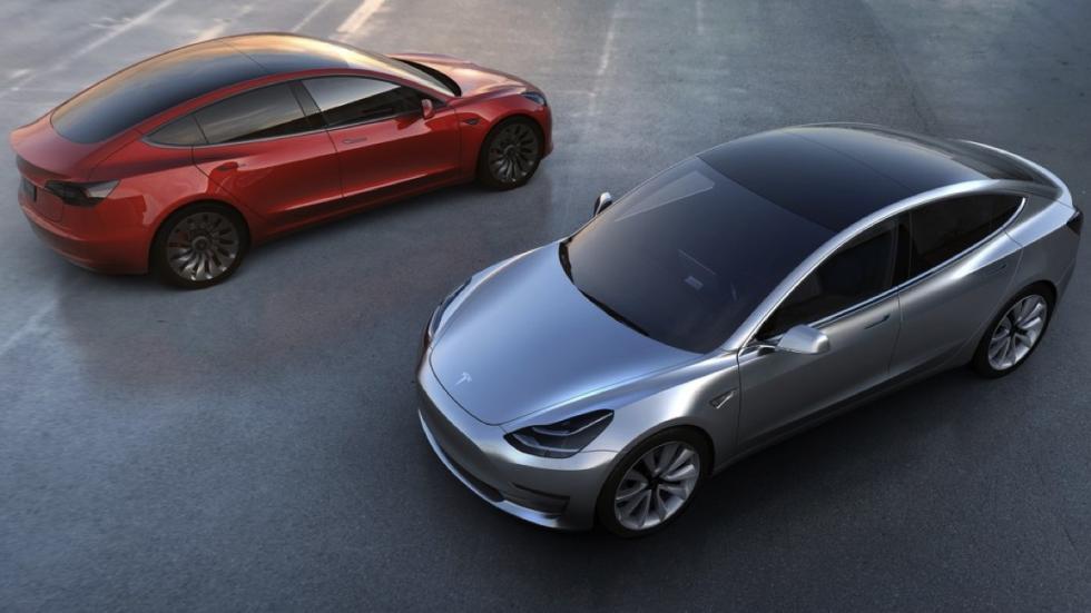 Tesla Model 3 perfiles