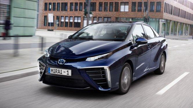 El Toyota Mirai: el coche más sostenible del mundo