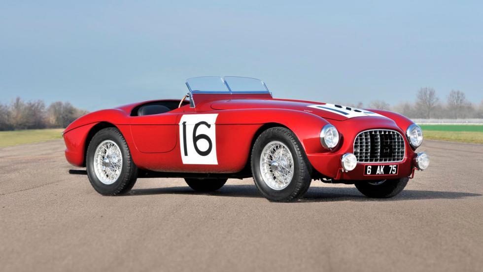 1. Ferrari 340 America Barchetta por Touring (1951). 7,28 millones de euros