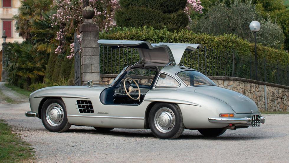5. Mercedes-Benz 300 SL Alas de Gaviota (1955). 1,24 millones de euros