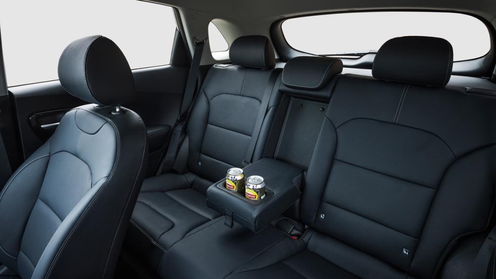 Kia Niro asientos traseros