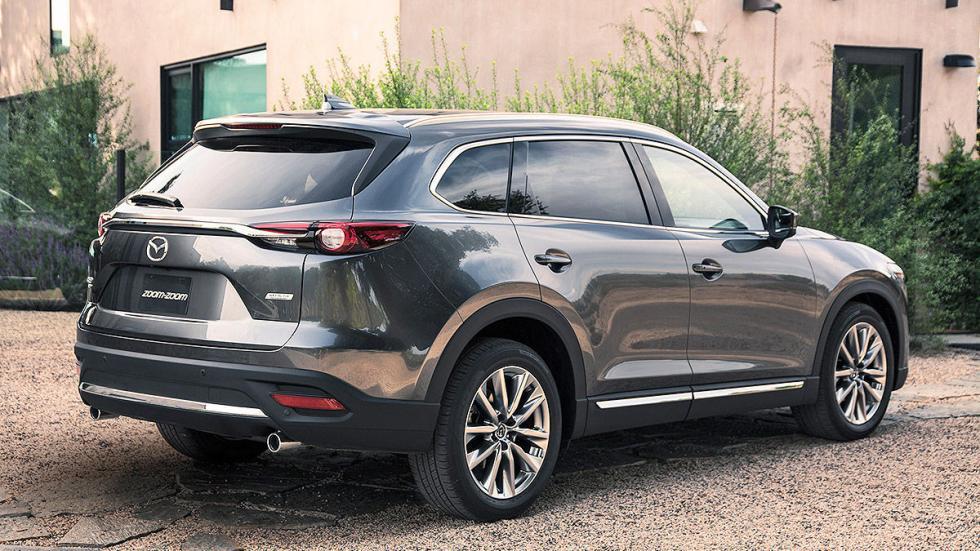 Mazda CX-9 lateral zaga
