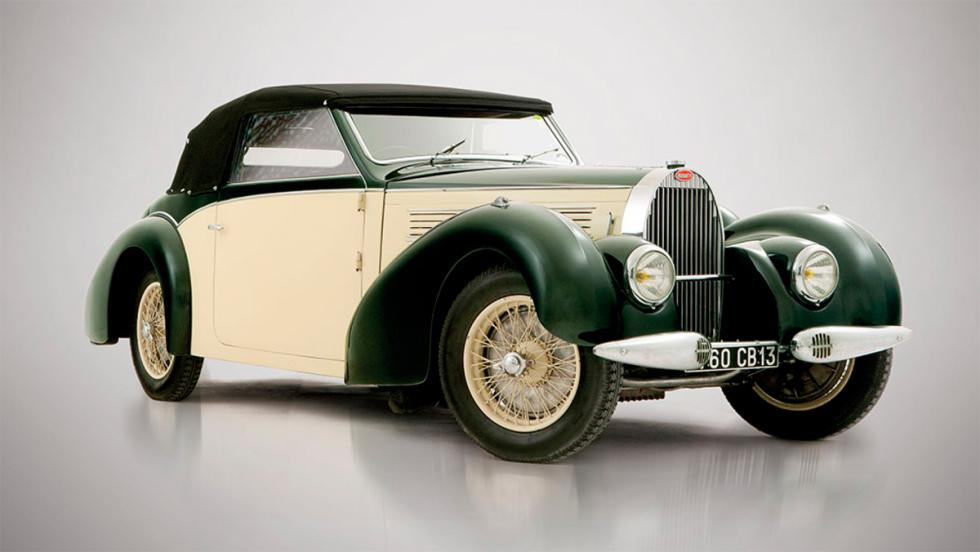 9. Bugatti Type 57 Cabrilolet by Gangloff (1939). 665.000 euros
