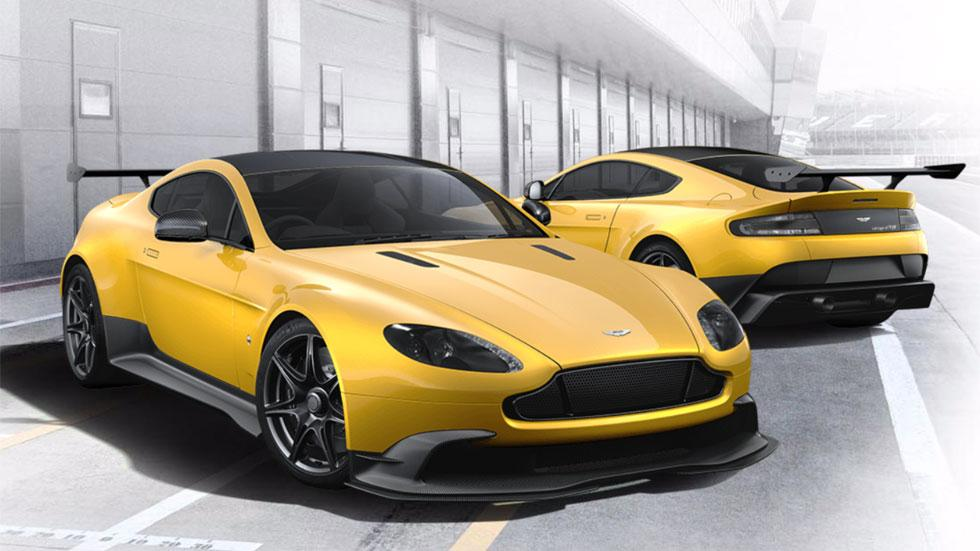 Aston Martin Vantage GT8 amarillo configurador
