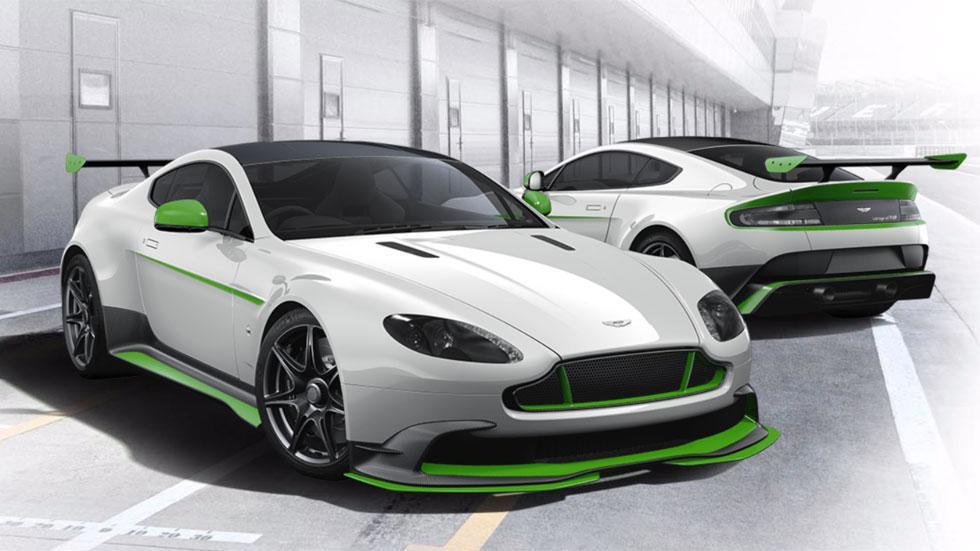 Aston Martin Vantage GT8 configurador blanco verde