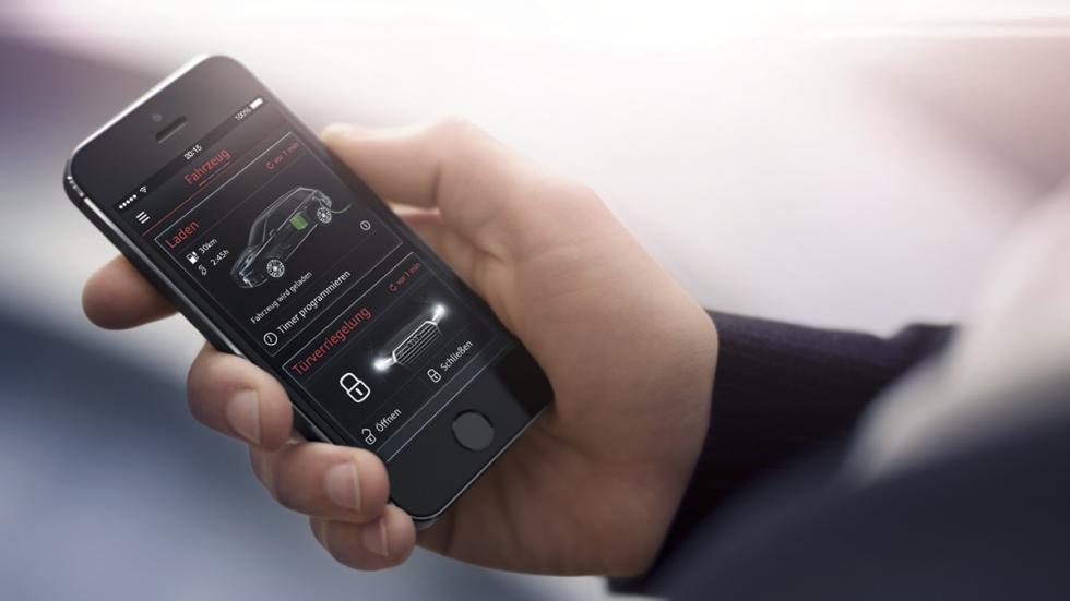 Audi Q7 e-Tron app móvil