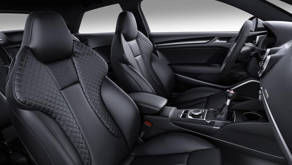 Audi S3 bacquets