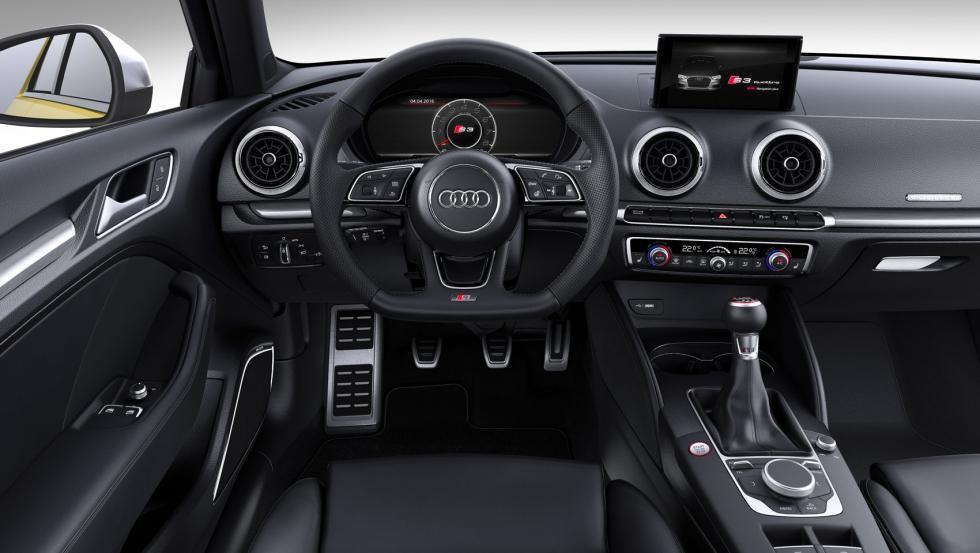 Audi S3 salpicadero