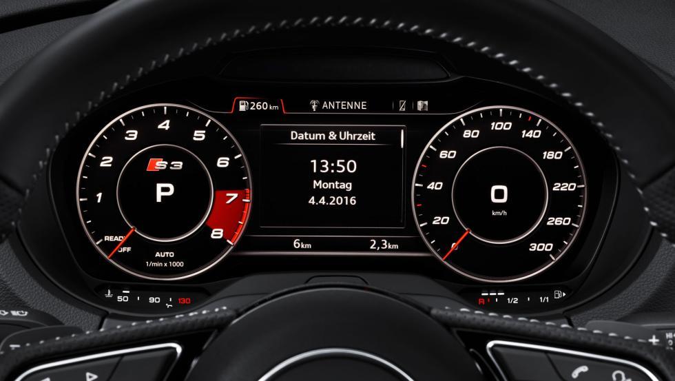 Audi S3 Virtual Cockpit