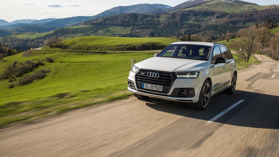 Audi SQ7 cambio