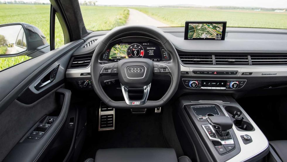 Audi SQ7 salpicadero