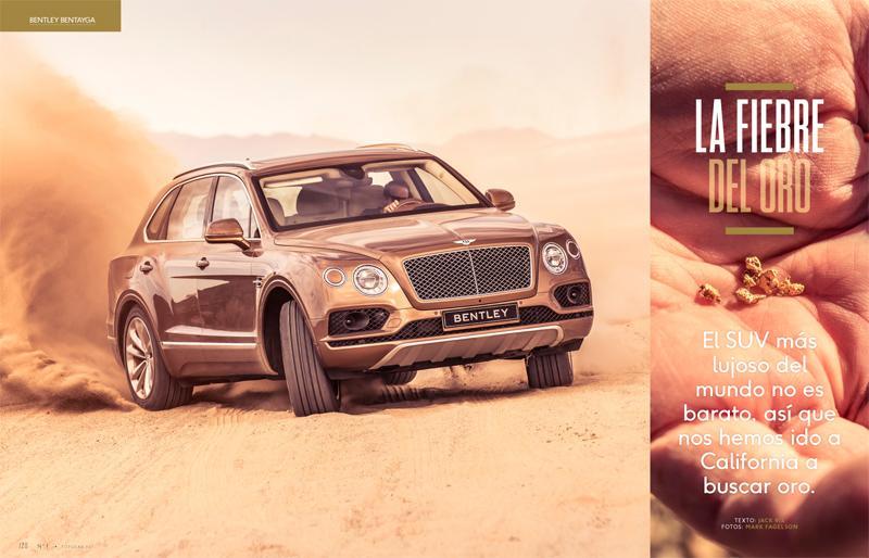 El Bentley Bentayga busca oro en TopGear España