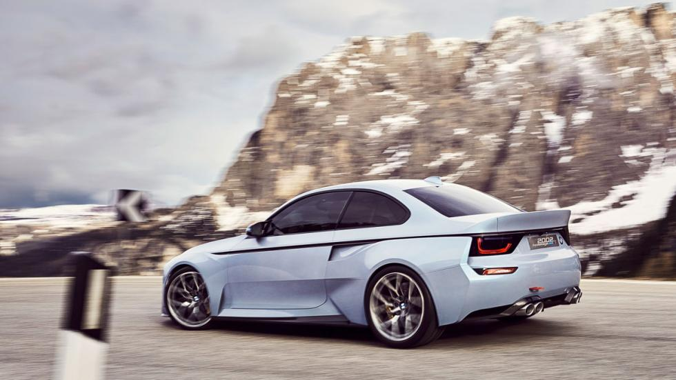 BMW 2002 Hommage lateral concept prototipo