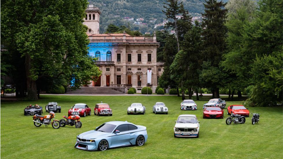 BMW 2002 Hommage Concurso Villa d'Este Lujo