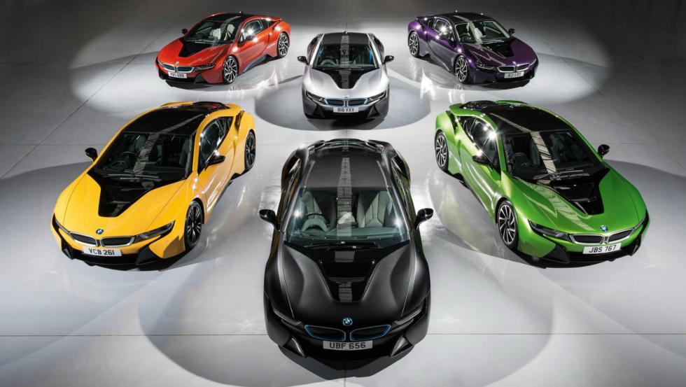 BMW i8 Colores