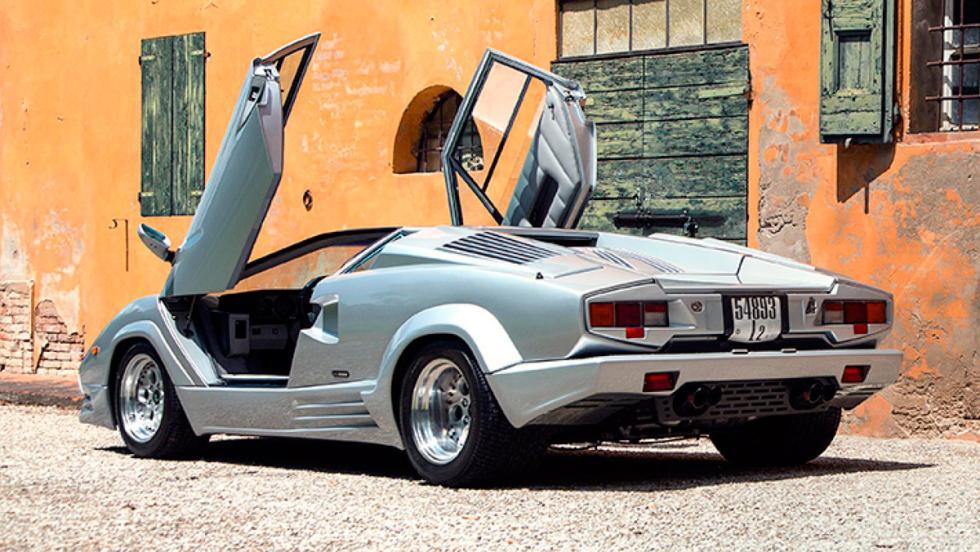 Error: Lamborghini Countach 25 aniversario, 1988