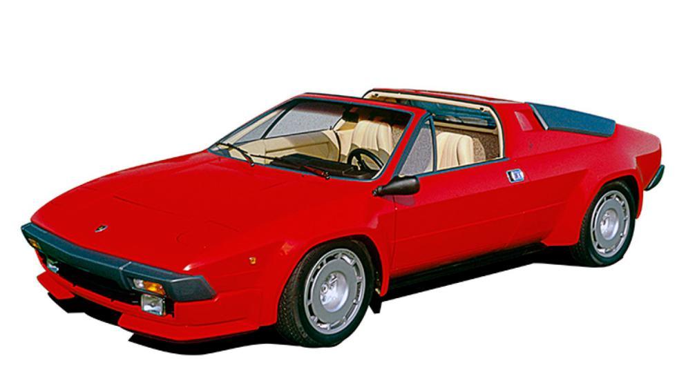 Error: Lamborghini Jalpa, 1981