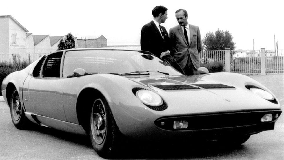 Lamborghini Miura antigua aniversario