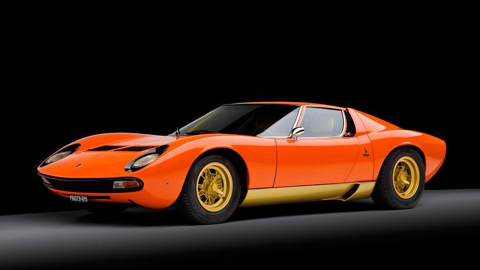 Lamborghini Miura SV naranja
