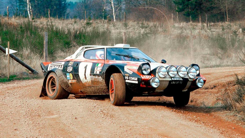 Lancia Stratos, cambio dog leg