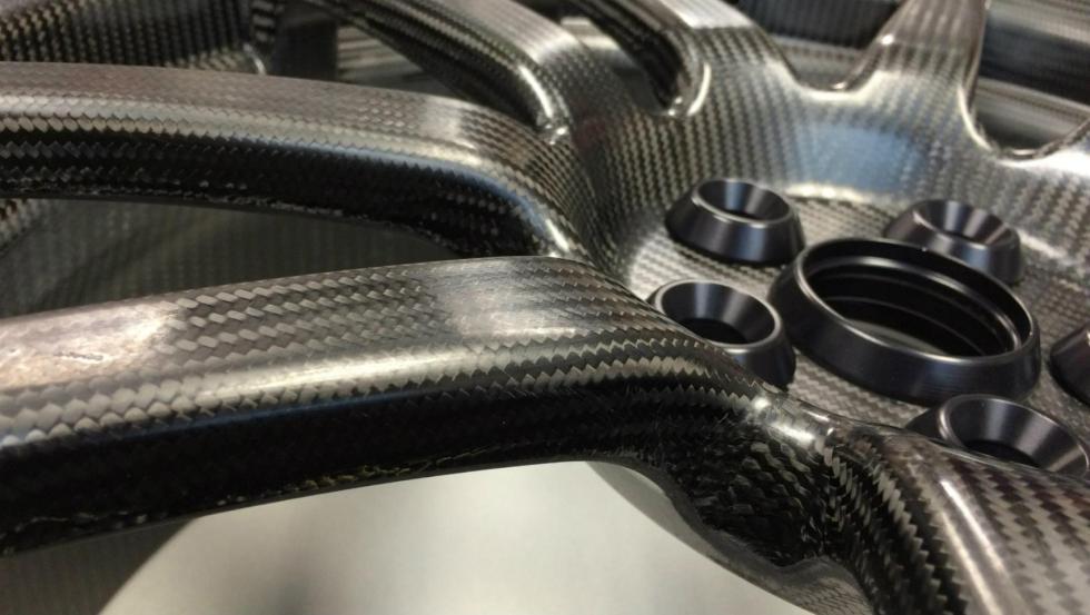 Llantas de carbono del Ford GT 3