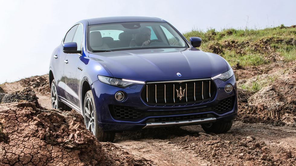 Maserati Levante off-road barro 4x4