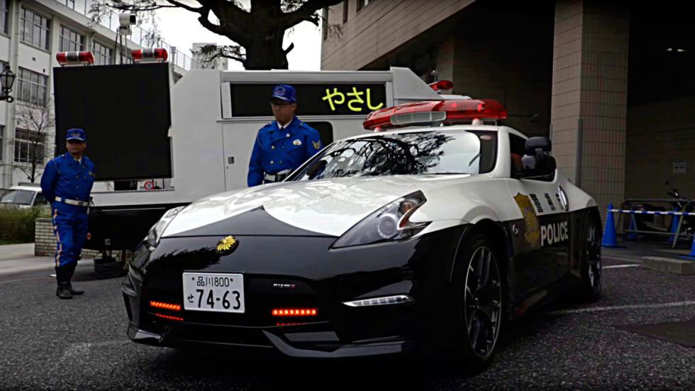 Nissan 370Z Nismo Policía Japón (2)