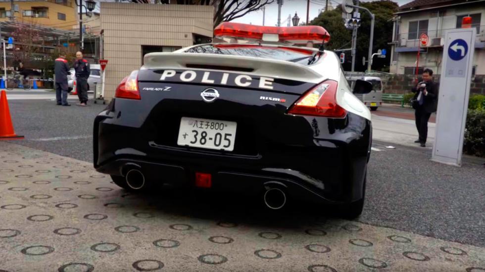 Nissan 370Z Nismo Policía Japón (5)