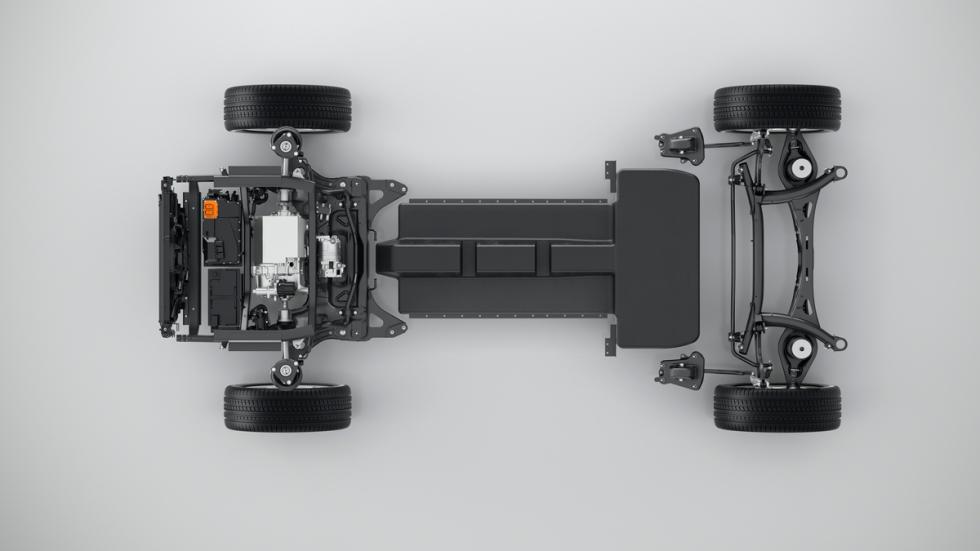 Nueva plataforma de arquitectura modular compacta (CMA) de Volvo