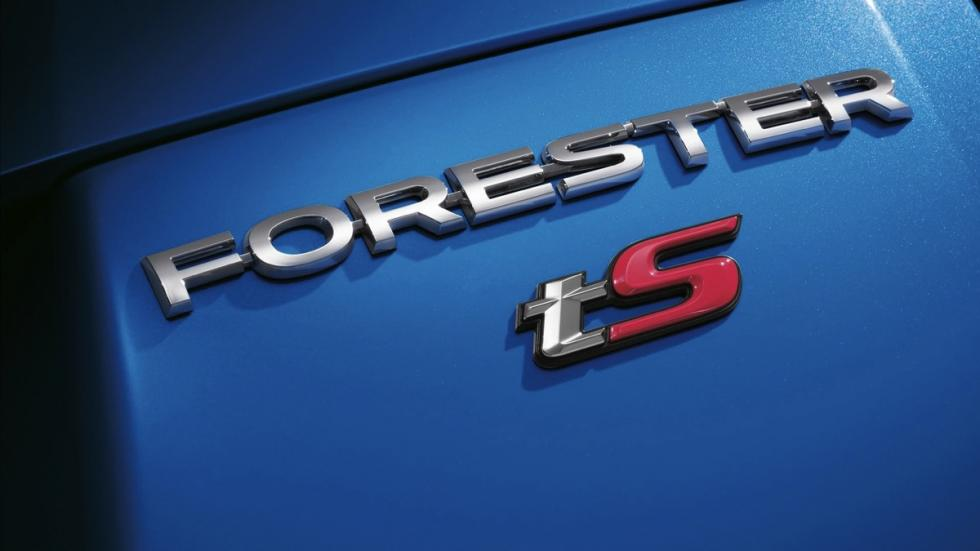 Subaru Forester tS emblema version