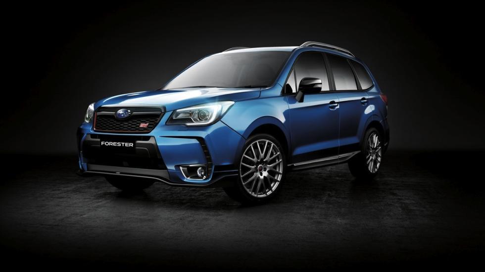 Subaru Forester tS diseño deportivo