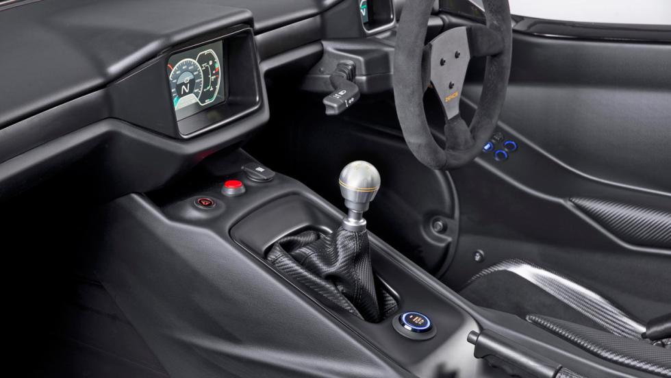 Zenos E10 R, interior