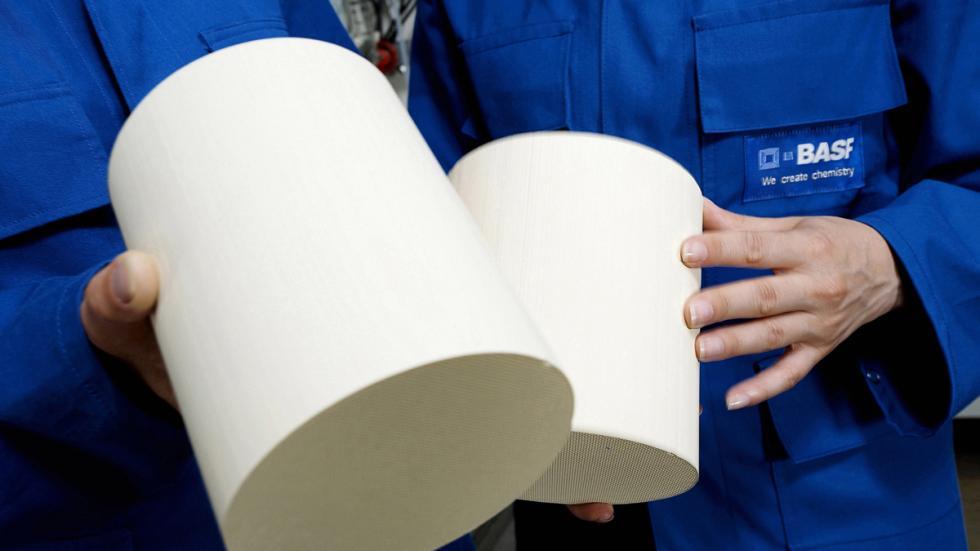 monolitos para filtros de partículas