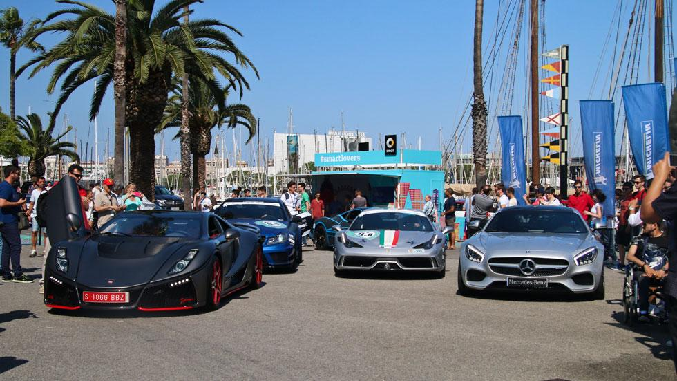 6to6 Barcelona Motordays GTA Ferrari Aperta AMG