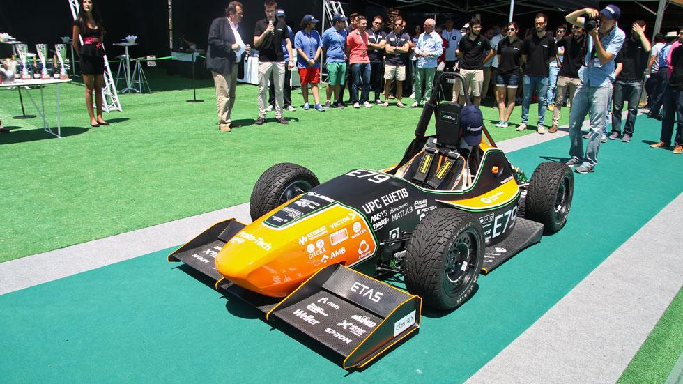 6to6 Barcelona Motordays Formula Student eléctrico