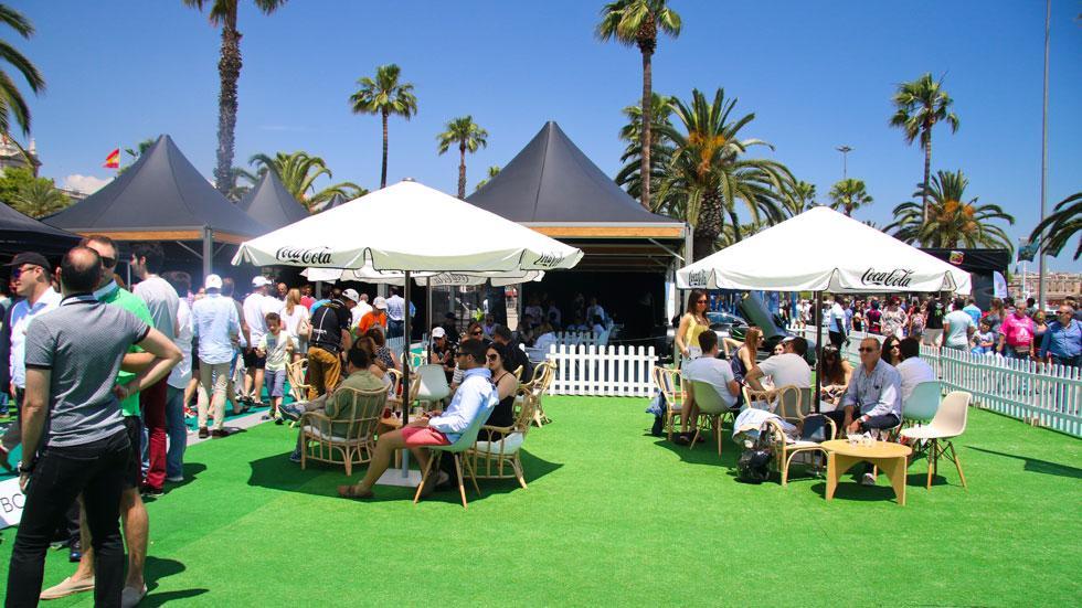 6to6 Barcelona Motordays Terraza lujo