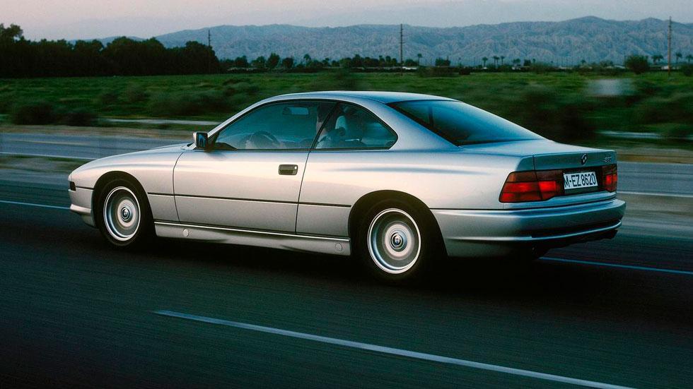 BMW Serie 8 trasera clasico deportivo