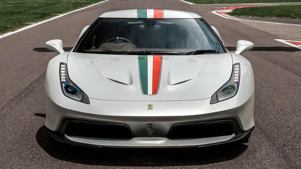 Ferrari 458 MM Speciale frontal único one-off exclusivo