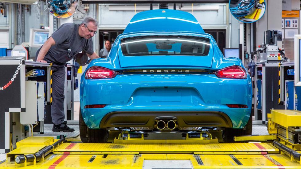 Porsche 718 Cayman, producción, 5